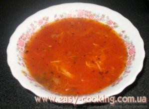 суп з помідорів