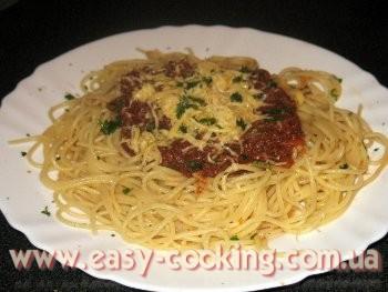 Рецепт пасты с соусом болоньезе