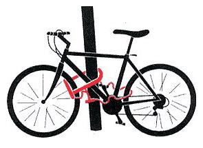 Захист велосипеда від крадіжки