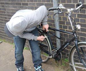 Крадіжка велосипеда