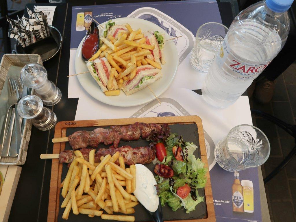 レストランENETIKOで食べた料理
