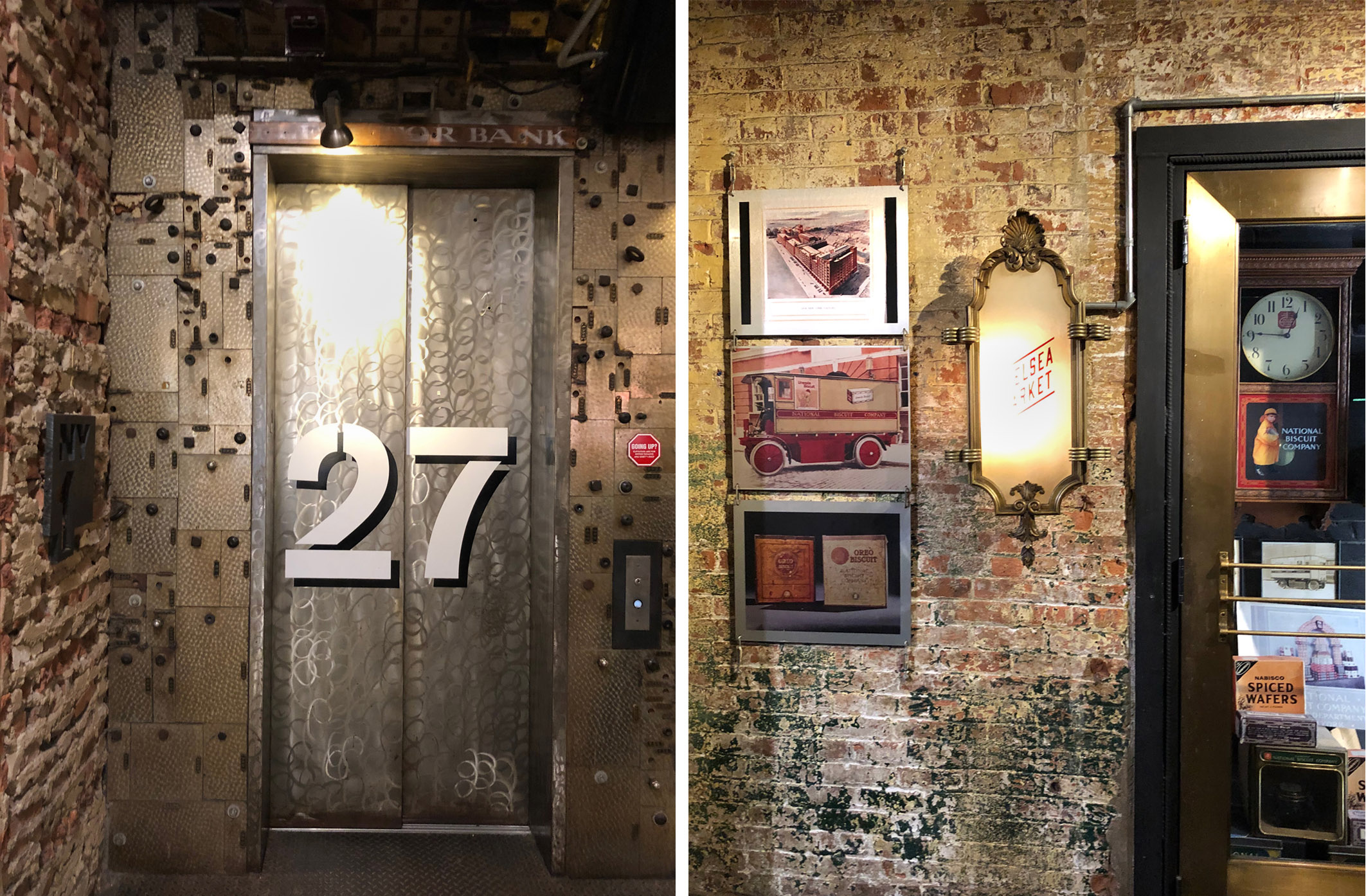 Chelsea Market Wand industrial Style