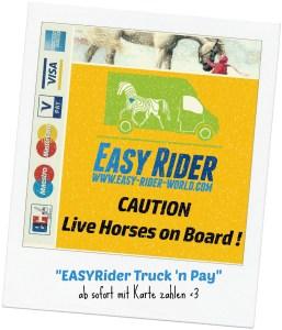 EASYRider Pferdetransporte Kartenzahlung