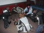 Illanviettoa pakistanilaisella poliisiasemalla