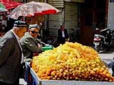 Sokerikauppias Kashgarissa