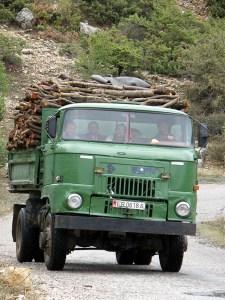 IFA truck in Albania