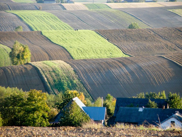 Countryside of Southern Poland