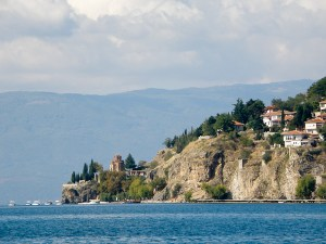 Ohrid järvi ja Sveti Jovan Kaneo