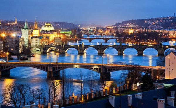 Prague - city of the hundred spires