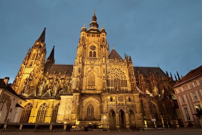 Prague - St. Vitus cathedral