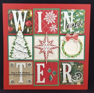 StampinUp 2018 winter sampler