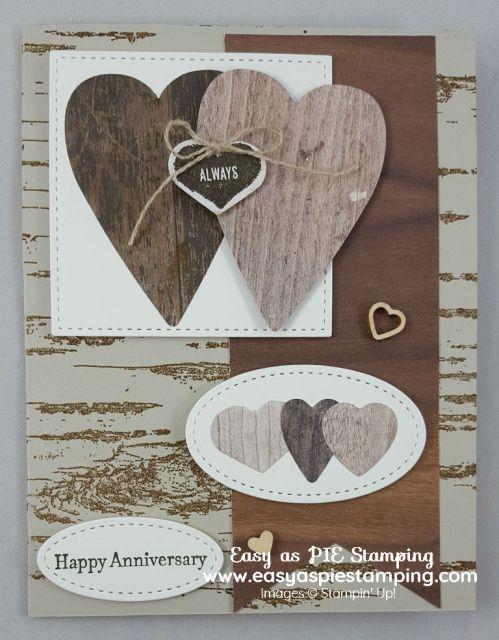 Rustic Anniversary Card Tutorial