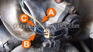 Part 2 How to Test the Throttle Position Sensor (GM 31L