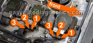 Part 1 How to Test the 18L VW Ignition Control Module and Ignition Coils