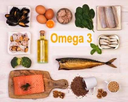 Omega 3 fatty acid foods