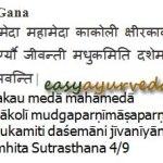 Jeevaneeya Gana Herbs of Charaka: Review, Medicines, Benefits