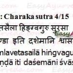 Shwasahara Gana – Anti Asthmatic Herbs Of Charaka