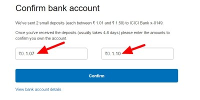 Confirming Your Bank Account on PayPal