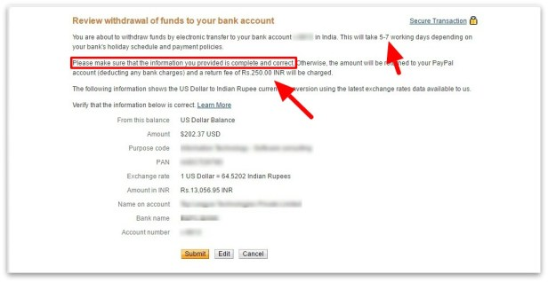004_Review withdrawal of funds to your bank account – PayPal