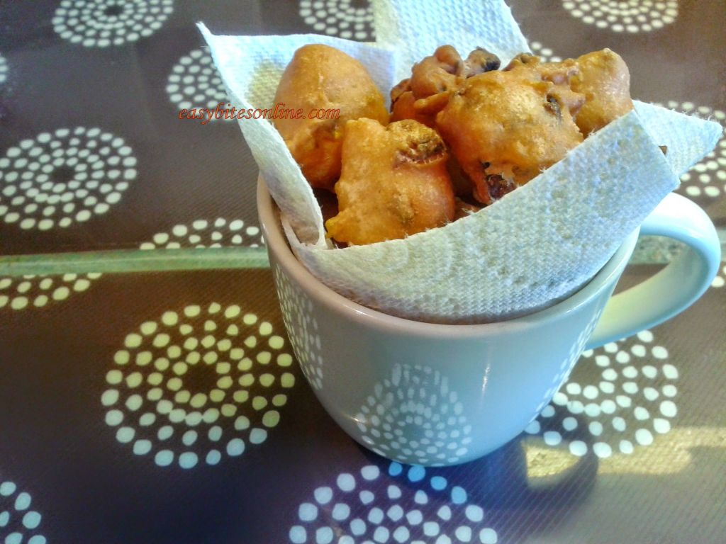 sour curd fritters