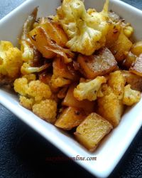 Alu Gobhi, Potato Cauliflower Curry