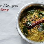 Zucchini/Courgette Chutney | Zucchini/Courgette with lentils and coconut – Being true to my roots
