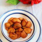 Yereyappa | Sweet dumplings using rice, coconut and jaggery