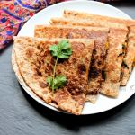 Bean Spinach And Corn Quesadilla