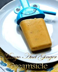 Mango And Ginger Creamsicle