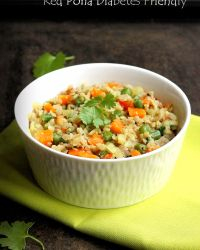 Red Poha Diabetes Friendly