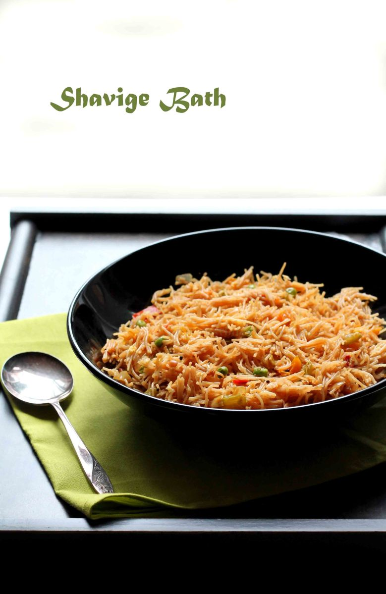 Whole Wheat Vermicelli Upma|Shavige Bath|Shavige Uppittu