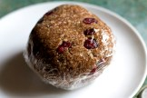 eggless ragi crinkle cookies with cranberries recipe