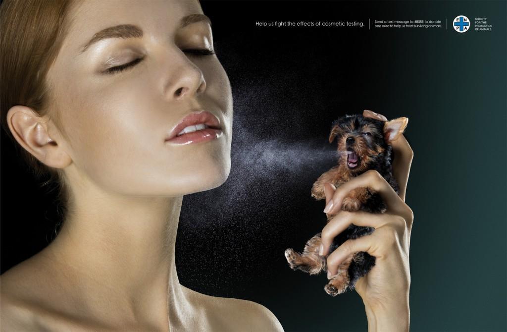 test sur animaux Les produits de beauté à base de porc