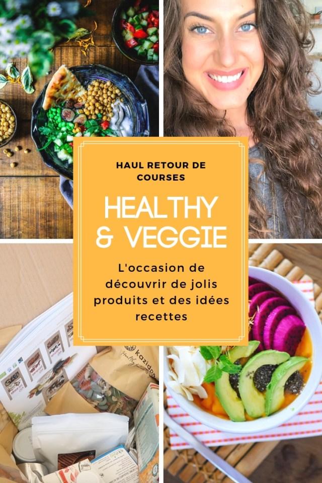 Une vidéo dans laquelle je vous présente mes derniers achats food : bio, healthy et veggie