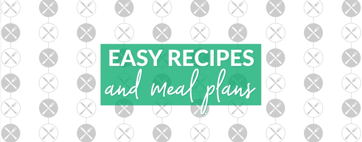 Our meal plans are full of recipes you can throw together quickly and easily while you live your life driving to the next soccer game or choir concert. via @easybudgetrecipes