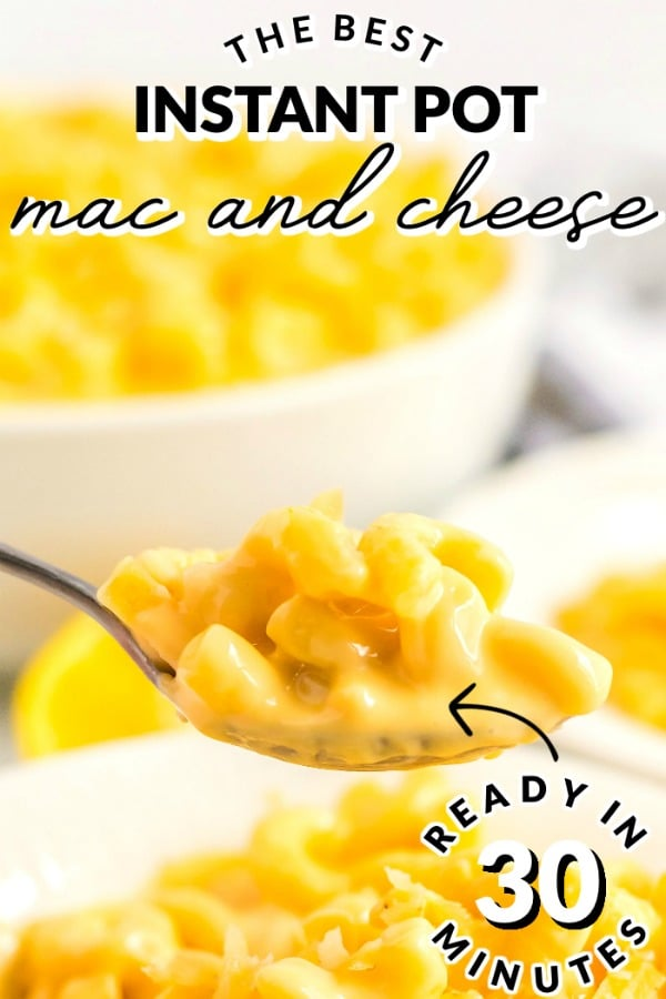 This Instant Pot Mac and Cheese recipe is an easy recipe made with macaroni, butter, evaporated milk, and 3 kinds of cheese. This recipe costs just $7.42 to make and $1.24 per serving! via @easybudgetrecipes