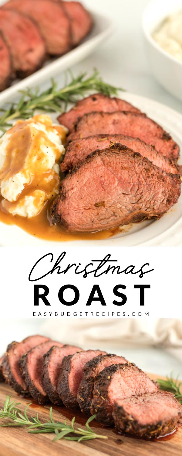 This Christmas Beef Chuck RoastRecipe is juicy, tender, and packed with great flavor thanks to the rub and brown gravy made with the pan drippings. via @easybudgetrecipes