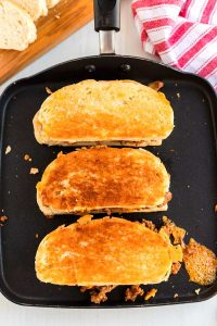 Grill until golden brown on both sides.