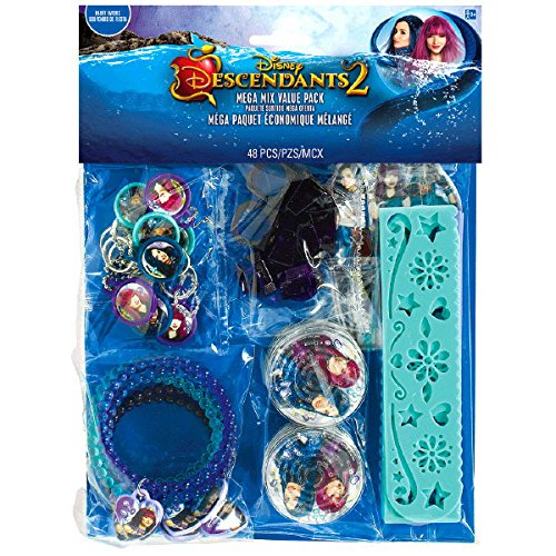 Disney Descendants 2 Maga Pack Of Party Favors Contains 48 Themed Treats To Give Your Guests