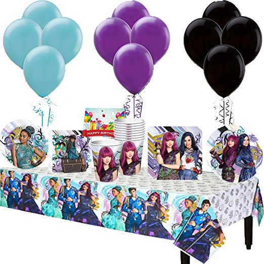 Disney Descendants 2 party supplies are now available for your premiere party or birthday party}