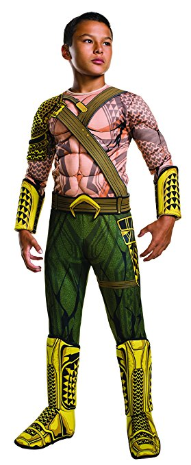Justice League Aquaman costume for boys available in many sizes