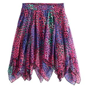 Pair this colorful skirt with a green top for your DIY Disney Descendants 2 Dizzy costume