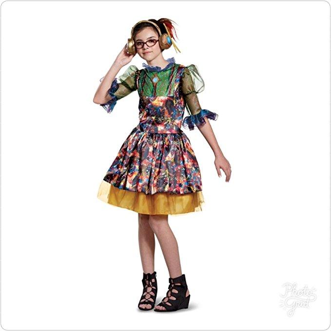 Disney Descendants 2 Girl's Dizzy Classic Costume Ready Made