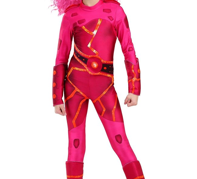 This Lavagirl Costume is available in many sizes.