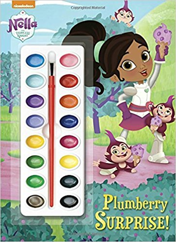 Nella the Princess Knight party favor watercolor book makes a great party favor