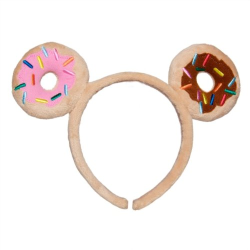 This adorable donut headband will have can be part of your child's donut costume or be a costume itself paired with matching pants and shirt.