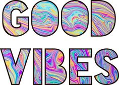 This Good Vibes logo is available for phone stickers, laptops, tee shirts, pillows and more.