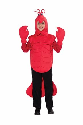 This lobster costume can be like a crawdaddy and work as your child's Mardi Gras costume