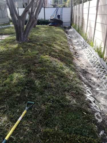 Natural Grass laying for shady areas