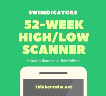 ThinkOrSwim 52 week high low scanner and watchlist